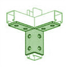 UNISTRUT, 8-HOLE WING FITTING PERMA-GREEN