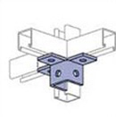 UNISTRUT, 6-HOLE WING FITTING EG