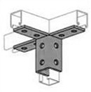 UNISTRUT, 12-HOLE WING FITTING HDG