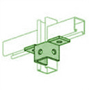 UNISTRUT, 5 HOLE WING PERMA-GREEN