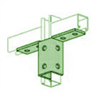 UNISTRUT, 10 HOLE WING  PERMA-GREEN